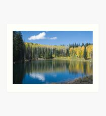 Glacier Lake, Grand Mesa, Colorado Art Print