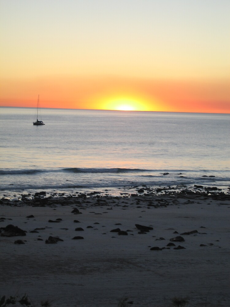 Cable beach sunset, Broome Australia by rani