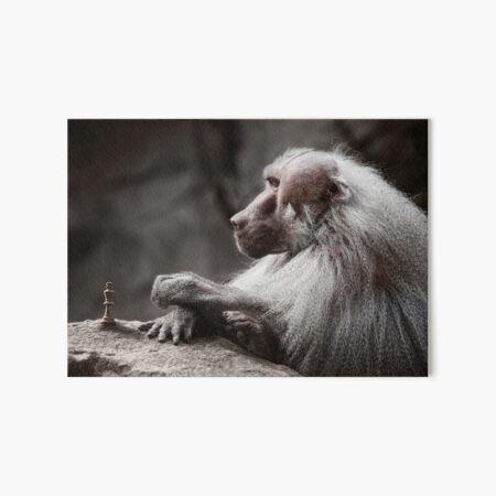 The Chessmaster Art Board Print
