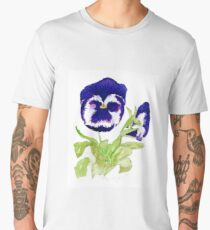Pansy  Men's Premium T-Shirt