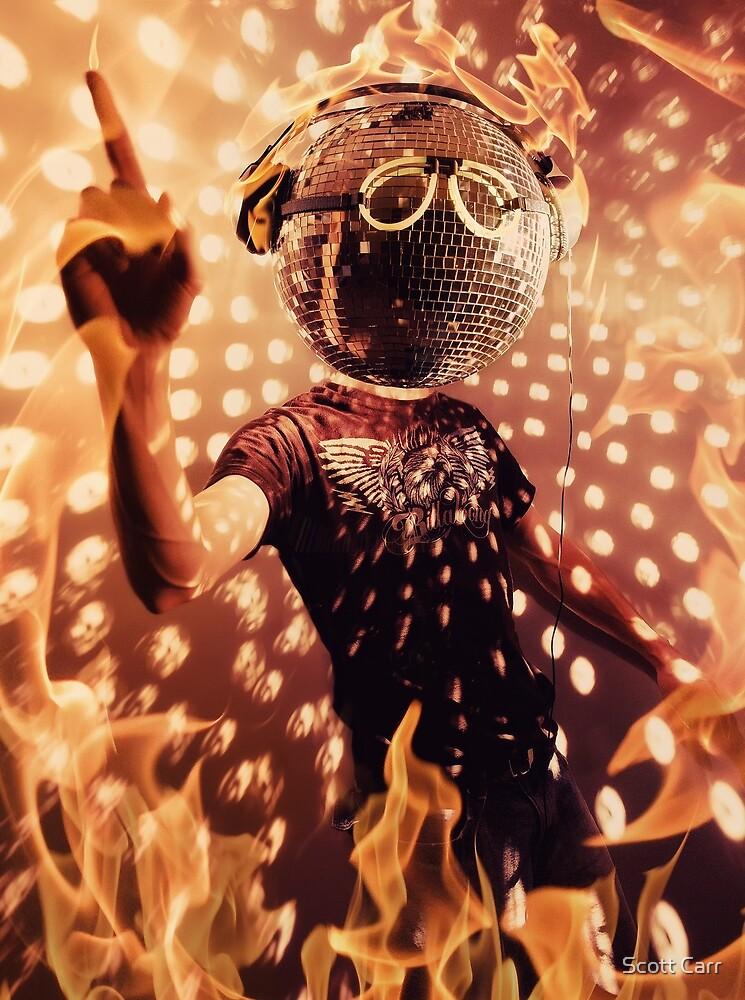 Disco Inferno by Scott Carr