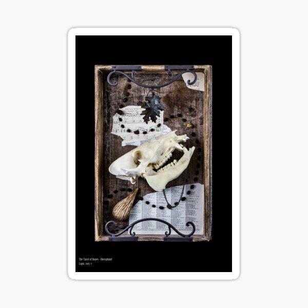 Tarot of Bones - Hierophant Sticker