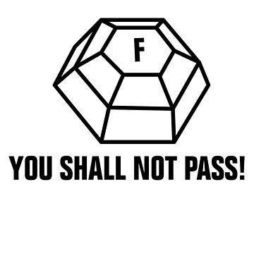 You shall not pass - ForceField by SCshirts