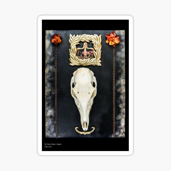 Tarot of Bones - Empress Sticker