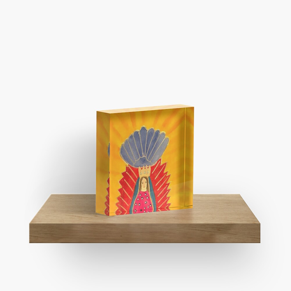 Our Lady of Guadalupe Acrylic Block