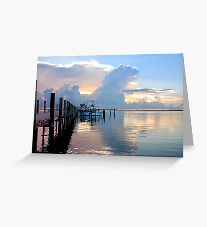 A Day For Fishing Greeting Card