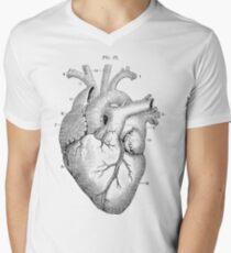 Anatomical Heart Men's V-Neck T-Shirt