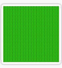 Knitted Textile Art - 1 Sticker