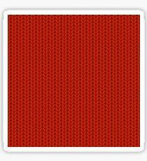 Knitted Textile Art - 3 Sticker