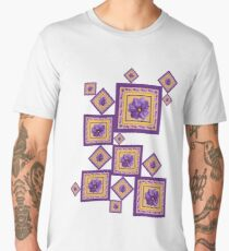 Purple Wildflower Men's Premium T-Shirt