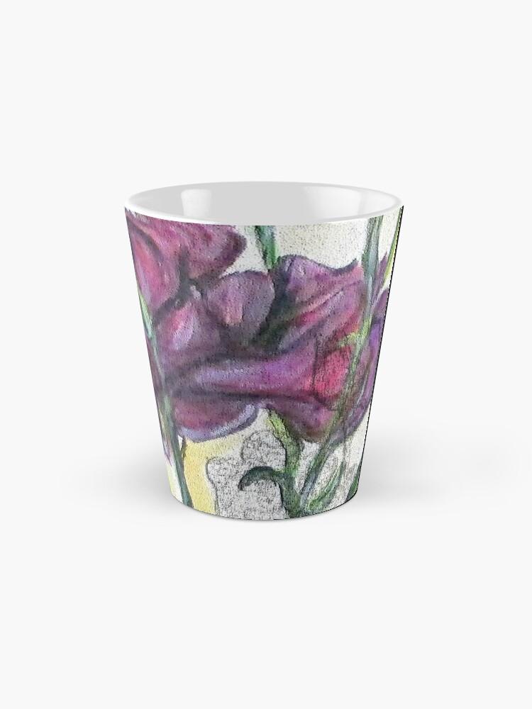 Alternate view of Kimberly's Spring Flower Digital Enhanced Mug