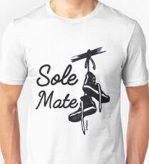 Soul mate sneaker art,  High tops, Gift for the fan, collector and lover of sneakers! T-Shirt