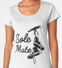 Soul mate sneaker art,  High tops, Gift for the fan, collector and lover of sneakers! Women's Premium T-Shirt