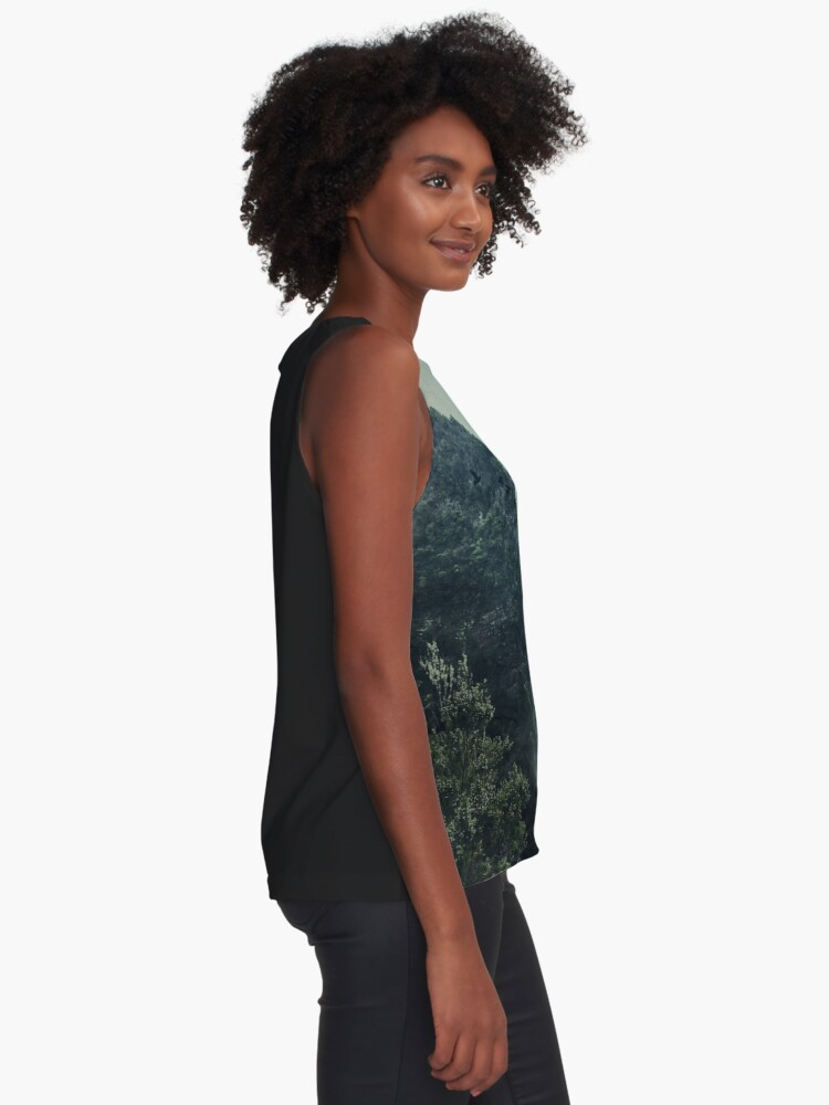 Alternate view of Misty Mountains Vol. X Sleeveless Top