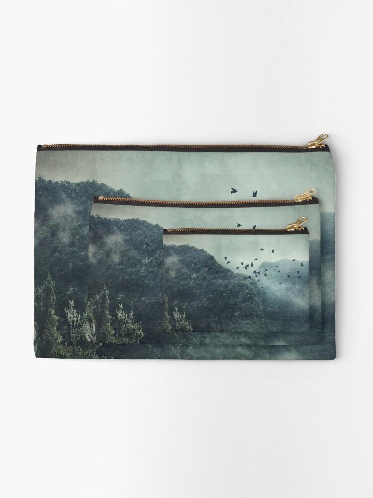 Alternate view of Misty Mountains Vol. X Zipper Pouch