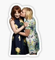 Jane krakowski and Ellie Kemper Sticker