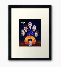 The Doctors and Missy Framed Print