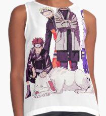 Naruto x Kiba x Shino x Hinata Contrast Tank