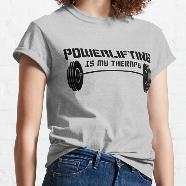 Powerlifting Therapy Classic T-Shirt