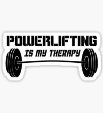 Kraftdreikampf-Therapie Sticker