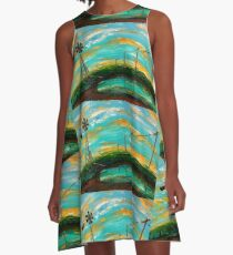 Rain and Sundown A-Line Dress