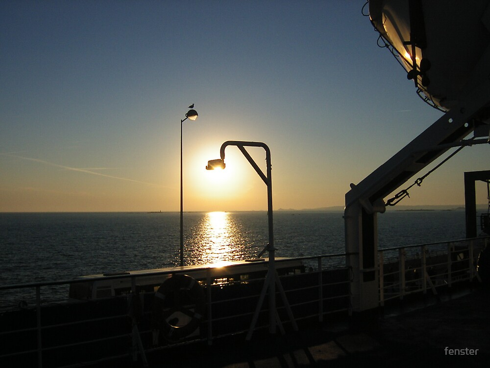 Early Ferry by fenster