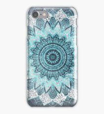BOHOCHIC MANDALA IN BLUE iPhone Case/Skin