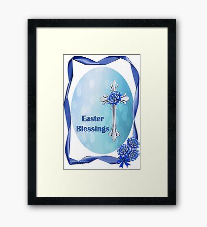 Easter Blessings (1667 Views) Framed Print