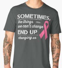 Breast Cancer Awareness Shirt  Men's Premium T-Shirt