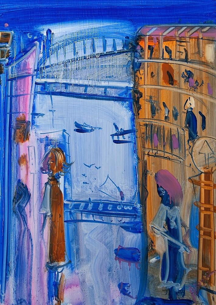 Blue Storm by Adam Bogusz