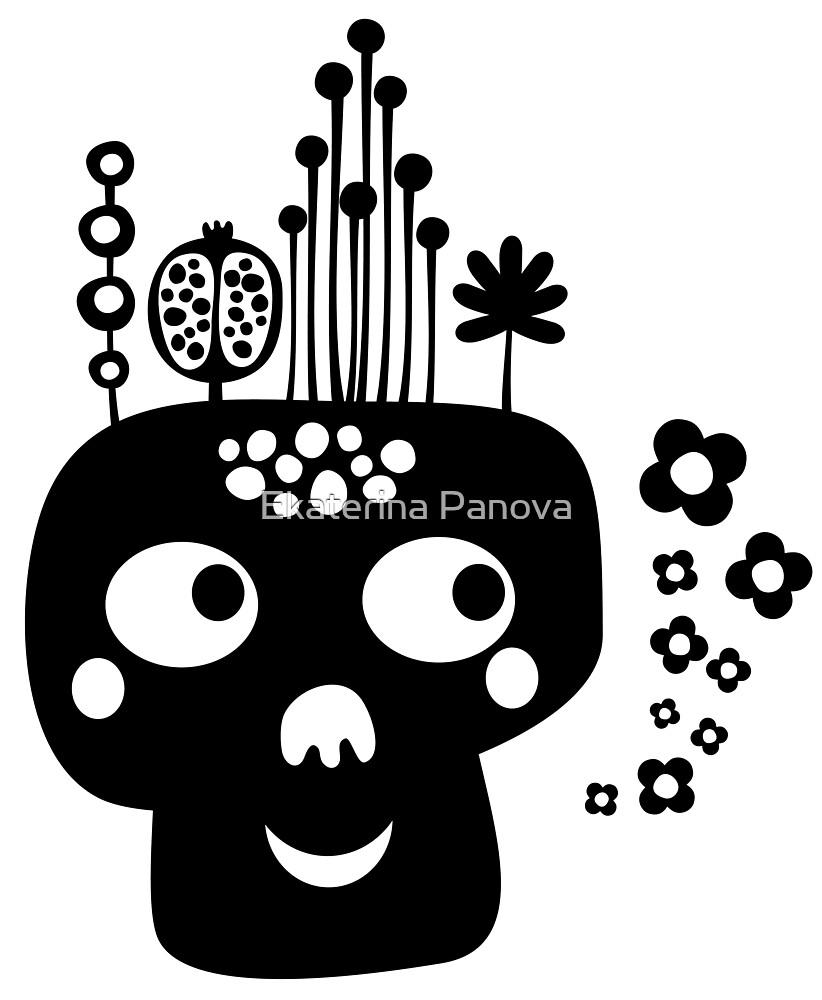 Funny skull by Ekaterina Panova