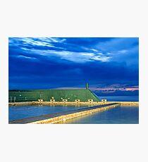 Newcastle Ocean Baths Sunrise Photographic Print