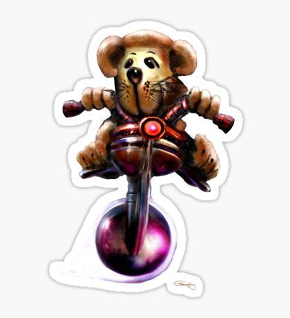 TeddyDawgT Sticker