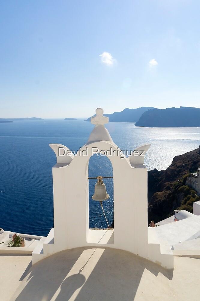 Santorini. Oia - Church Bell by David Rodriguez