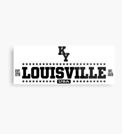 Louisville Kentucky USA Metal Print
