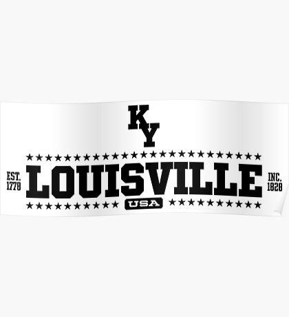 Louisville Kentucky USA Poster