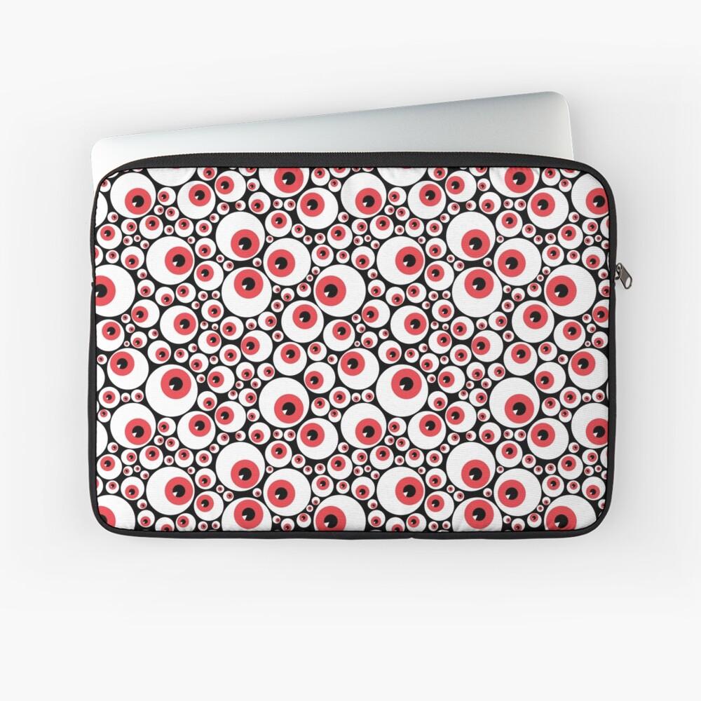 Red Eyeballs Laptop Sleeve