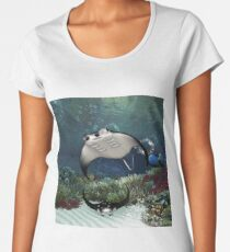 Awesome manta Women's Premium T-Shirt
