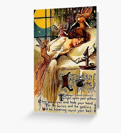 Hallowe'en Time Greeting Card