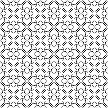 Elegant geometric pattern №3 by AllaRi