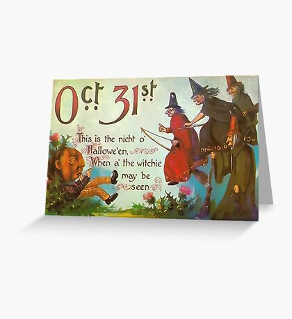 Oct. 31st. Greeting Card