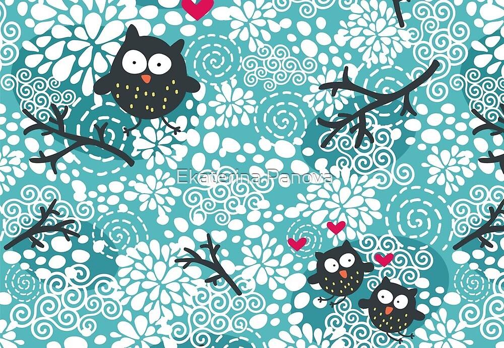 Snow owl by Ekaterina Panova