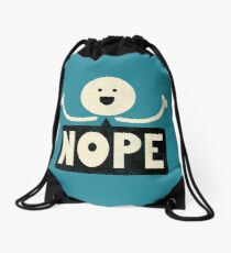 Nope Drawstring Bag