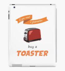 Toaster iPad Case/Skin
