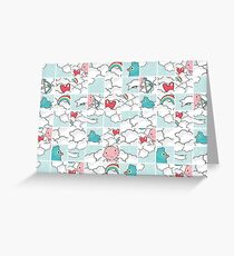 Love puzzle Greeting Card