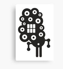 Robots in cell Canvas Print