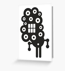 Robots in cell Greeting Card