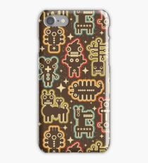 Monsters and robots iPhone Case/Skin