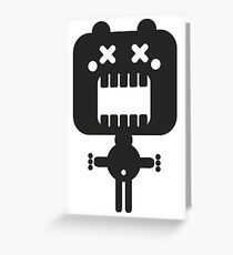 Monsters and robots Greeting Card