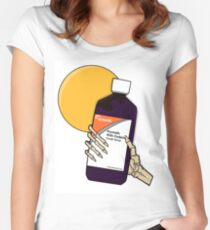 Prometh WIth Codeine Actavis  Women's Fitted Scoop T-Shirt